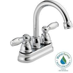 centerset 2handle higharc bathroom faucet in chrome grey