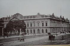 Berlin, Opernplatz & Ruhmeshalle, um 1885.