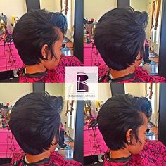 STYLIST FEATURE| Love this #naturalhair #pixiecut✂️ done by #PhillyStylist…