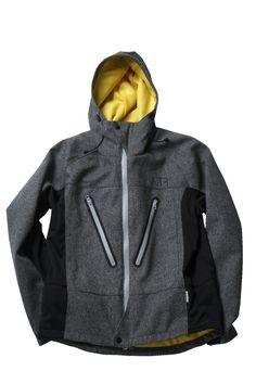 ad6f0ea501f9 waterproof + herringbone   awesome and practical jacket.