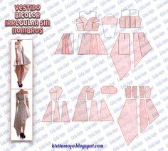 Coat Patterns, Dress Sewing Patterns, Clothing Patterns, Pattern Drafting, Jacket Pattern, Fashion Sewing, Sewing Techniques, Pattern Making, Modeling