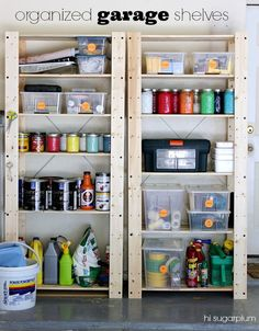 Hi Sugarplum | Tips on Organizing your Garage