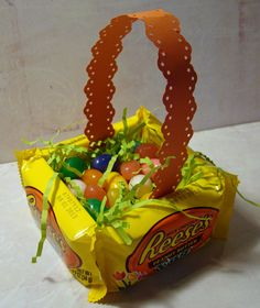 Edible Basket: see how-to under Easter