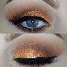 Orange Summer 2014 Trend Makeup