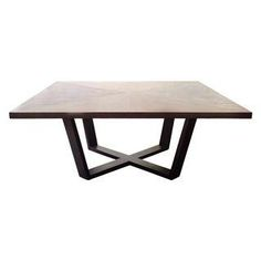 ...or in the square. Maxalto Xilos Dining Table $4200.