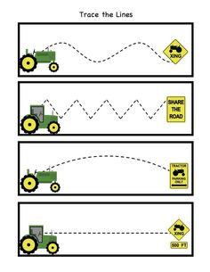 Image result for preschool tractor learning
