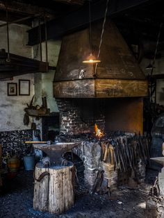 All sizes   Blacksmith's forge and anvil   Flickr - Photo Sharing!