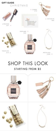 """""""GIFT GUIDE : XMAS16 BFF"""" by rachaelselina ❤ liked on Polyvore featuring Viktor & Rolf, Crate and Barrel, Ginette NY and giftguide"""