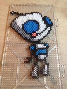 Gir Invader Zim perler beads by 0-Fucks-to-give