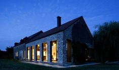 Old Farmhouse Converted Into A Contemporary Family Home In Lennik