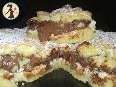 Sbriciolata ricotta e Nutella cremosa Ricotta, Nutella, French Toast, Cheesecake, Breakfast, Food, Content, Home, Morning Coffee