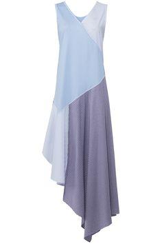 Opening Ceremony Blue Women's Size Small S Striped Sheath Dress - for sale online Funky Dresses, Cute Dresses, Casual Dresses, Fashion Dresses, Summer Dresses, Striped Maxi Dresses, Cotton Dresses, Jeans Denim, One Piece Dress