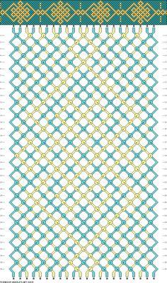22 strings 36 rows 2 colors