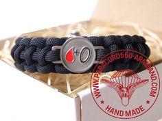 ARMBAND BLUTGRUPPE 0 RH+ / BRACELET BLOOD TYPE 0 RH+ Belt, Bracelets, Blood, Accessories, Wristlets, Belts, Bracelet, Arm Bracelets, Bangle