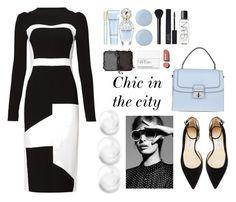 """Chic in the city"" by thatgirlwholovesit on Polyvore featuring Dolce&Gabbana, Antonio Berardi, Jimmy Choo, Marc Jacobs, Deborah Lippmann, NARS Cosmetics and Chanel"