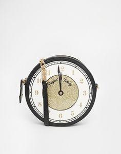 """ALDO Holiday """"Clock"""" Novelty Crossbody"""
