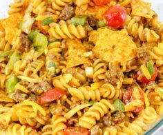 DORITOS TACO PASTA SALAD! – My Incredible Recipes