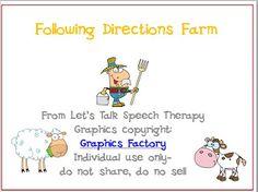 farm following directions