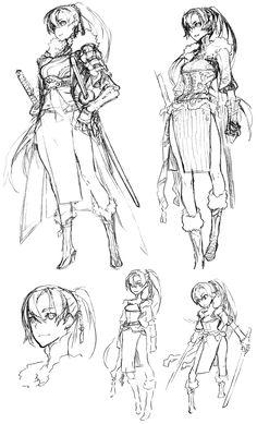 Lyndis Sketches