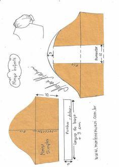 Transformación de manga simple en manga bufante.