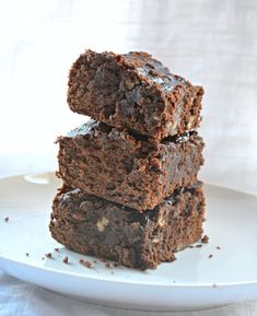 Fuddgy Black Bean Brownies - 10 Sweet Recipes with Hidden Vegetables