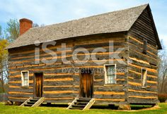 James K. Polk Birthplace royalty-free stock photo