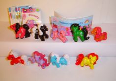 Fremdfiguren SWEET  N FUN - PONY LAND SURPRISE - komplettsatz + bpz + stickers