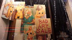 BAD ART SALE, New York, FISHS EDDY / КАРТИНА МАСЛОМ ) НЬЮ-ЙОРК