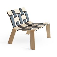 Webster Chair by Lukas Dahlen, inspired by the most common type of wood and weaving technique, but in a larger scale.