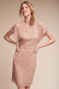 Elin Dress|Rose Gold
