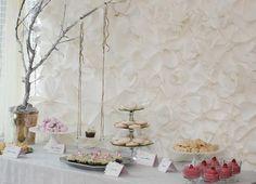 secret garden baby shower, baby girl pink mousse, cookies, russian tea cakes, secret garden party dessert table ideas