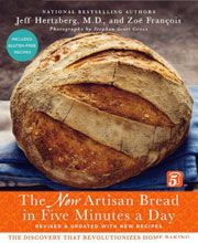 The New Artisan Bread in Five Minutes a Day cookbook.  Wonderful bread any time with little time involved.