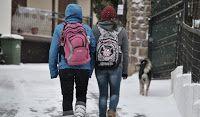 Πιερία: Ολικός παγετός και κλειστά σχολεία και την Τρίτη σ...