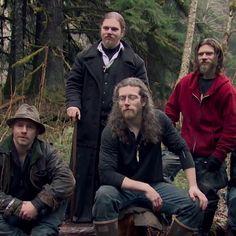 Wow, would you look at Bam Bam's long hair! What a good looking man...  Joshua Brown Alaskan Bush People