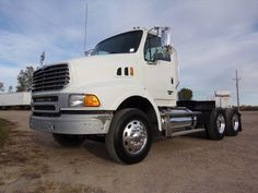 Looking for used trucks located in St. Allstate Peterbilt Group can help you with your certified used trucks search. Sterling Trucks, Used Trucks, Rigs, Tractors, American, Tractor