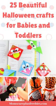 Over 25 Beautiful Halloween Crafts for Babies and Toddlers