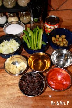 "Mr. & Mrs. P: Cuban Ground Beef Dish: ""Picadillo"""
