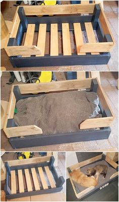 Adorable DIY Ideas for Shipping Pallets Reusing Easy Pallet Projects and DIY Wood Pallets Ideas Adorable DIY Ideas for Shipping Pallets Reusing Easy Pallet Projects and DIY Wood Pallets Ideas Alicia Perkins Home nbsp hellip bedding wood Pallet Dog Beds, Diy Pallet Bed, Pallet Ideas Easy, Diy Pallet Furniture, Diy Furniture Projects, Diy Pallet Projects, Diy Ideas, Outdoor Pallet, Garden Pallet