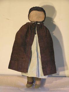 Early 20th C Amish Cloth Doll