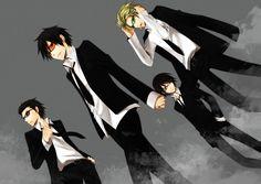 Kadota, Izaya, Shinra, Shizuo