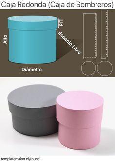 Making Gift Boxes, Diy Gift Box, Diy Box, Paper Box Template, Origami Templates, Box Templates, Cardboard Crafts, Paper Crafts, Foam Crafts