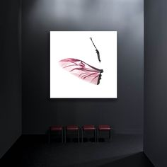 """Hirschkopf """"pink"""" by Alexander Palacios Living Room, Prints, Painting, Color, Home, Art, Stag Head, Art Background, Sitting Rooms"""