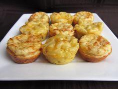 mac and cheese bites!