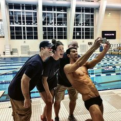 Michael Phelps Shares Photo of His Insane Abs in Last Swim Practice Before Rio…