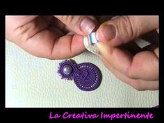 DIY - Tutorial Soutache - Come rifinire ed incollare una base anello ( ring base )