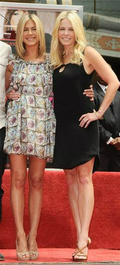 Jennifer Aniston & Chelsea Handler; BFF's
