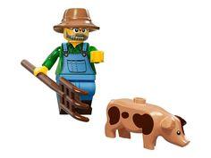LEGO FARMER COLLECTIBLE MINIFIGURE SERIES 15 NEW 71011 #LEGO