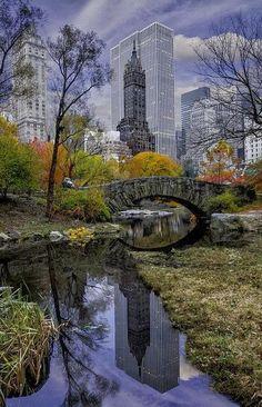central park à new-york aux états-unis