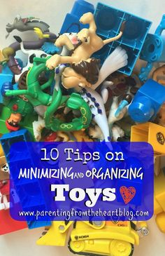 After Christmas and the Holidays, we become overrun with toys. Find tips on minimizing and organizing toys here. What are the best toys. What should stay and what should go. Best tips for organizing toys.