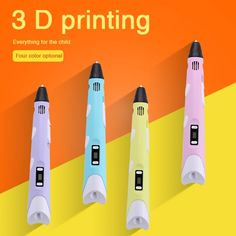59.89$  Watch here - http://ali2fk.worldwells.pw/go.php?t=32785219554 - Newest 1.75mm ABS/PLA DIY Smart 3 D Printing Pen 3 D Pen Maker +10M Filament +Adapter Creative Gift For Kids Drawing Painting 59.89$
